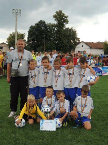 Cupa Viitorul Zalău la fotbal,grupa 2006,câştigată de careieni