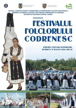 Duminică, va avea loc festivalul folcloric codrenesc Oțeloaia