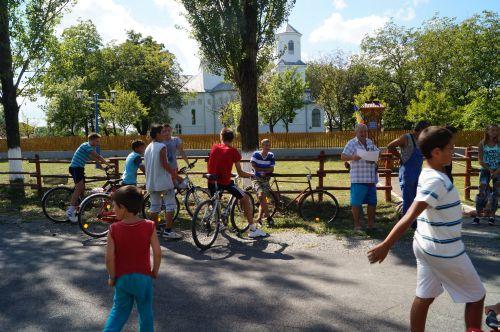 Concursul  de biciclete