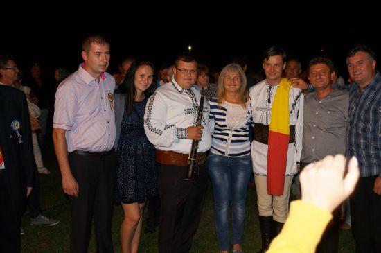 Cristian Fodor a încins spiritele moţilor  la Ianculesti