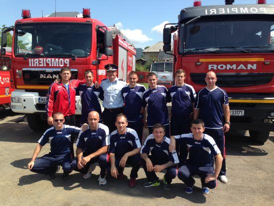 ISU recrutează candidaţi pentru şcolile de pompieri