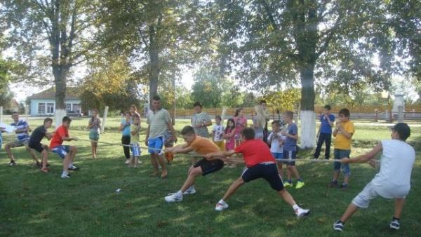 Activităţi sportive pentru copii cu ocazia festivalului ,,Zilele Iancului''