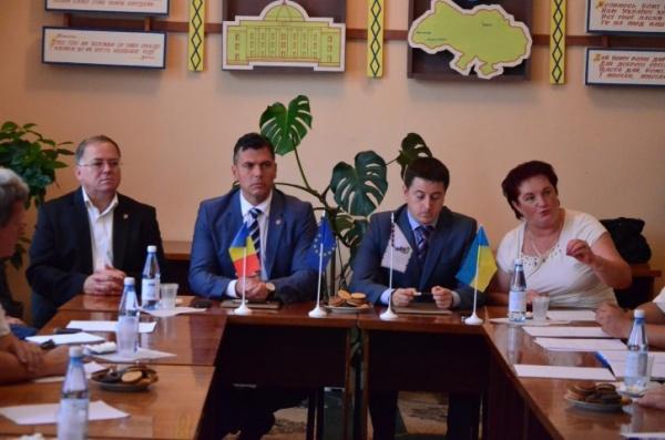 Protocol de intenție privind înfrățirea județului Satu Mare cu raionul Vinogradov