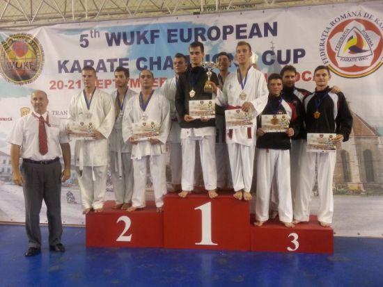 Rezultate foarte bune pentru CSM Satu Mare la Cupa Campionilor Europeni  de karate