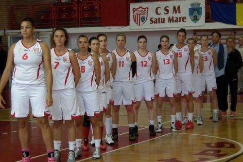 """Baschet: CSM Satu Mare s-a calificat în faza a II-a a """"Cupei României"""""""
