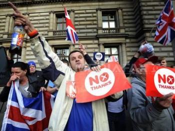 Scoţia nu vrea independenţa
