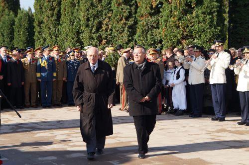Academia Română a onorat cu prezenţa manifestările de la 25 octombrie de la Carei