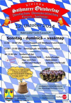Un Oktoberfest sătmărean
