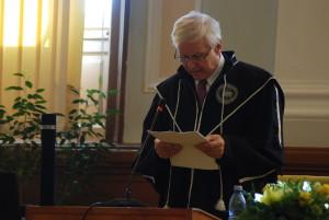 """Academicianul Eugen Simion, Doctor Honoris Causa al Universităţii Babeş-Bolyai: """"Şi eu sunt ardelean"""""""