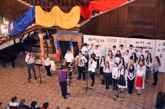 Spectacol de Ziua României la Carei