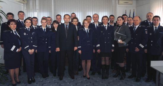 Ziua Naţională a României  marcată la Inspectoratul de Poliţie al Judeţului Satu Mare