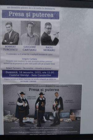 Invitaţii primarului Kovacs din presa centrală. Lansare de carte