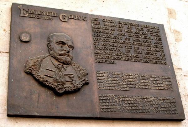 Marele mecena Gojdu şi istoria proprietăţilor româneşti din Budapesta