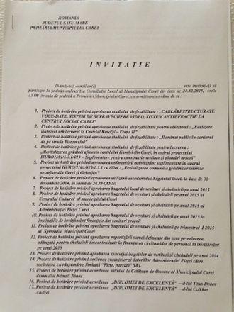Minciuna are picioare scurte! Buletin de Carei vă prezintă documentul care atestă dezinformările promovate în cazul amplasării bustului lui Mihai Eminescu la Carei