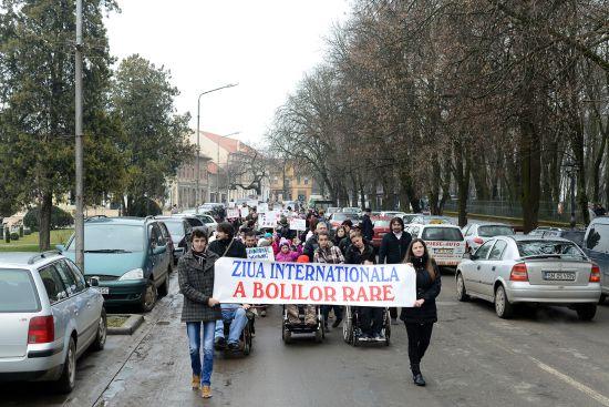 Marş de Ziua Bolilor Rare
