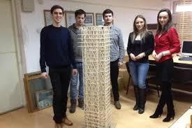 Studenţii clujeni au proiectat clădiri care rezistă la cutremure de 10 grade pe scara Richter