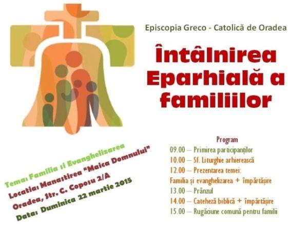 Întâlnirea Familiilor din Eparhia de Oradea
