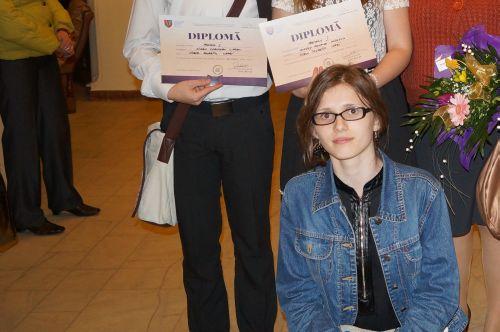 Alexandra  Oneţiu de la Liceul Teoretic s-a calificat la naţionala de Psihologie