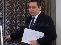 Victor Ponta revine la Guvern. Ca secretar general