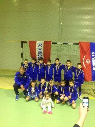 Kinder Carei obţine locul II la Turneul organizat de FC Bihor