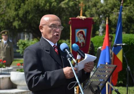 Grigore Bartoş, preşedintele Societăţii Cultural Patriotice Avram Iancu din Bihor – discurs la 96 de ani de la intrarea trupelor române în Oradea