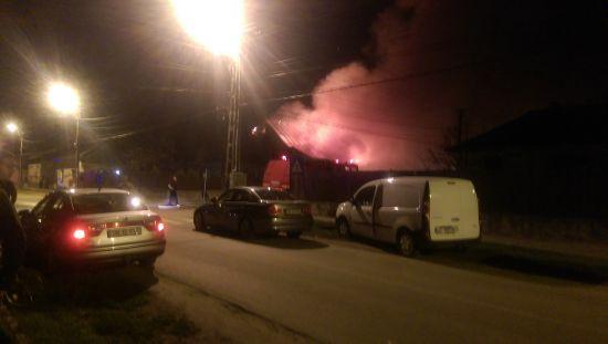 Incendiu devastator  la Carei