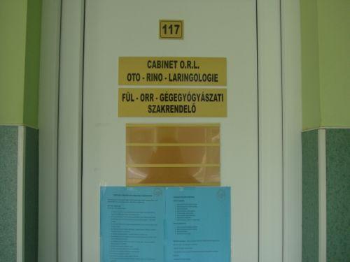 Spitalul Muncipal Carei a rămas şi fără medic ORL-ist