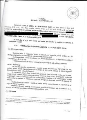 În DISPREŢUL Legii, Primăria Carei vrea aprobare pentru Statut la 6 luni după înregistrarea unui SRL al CL
