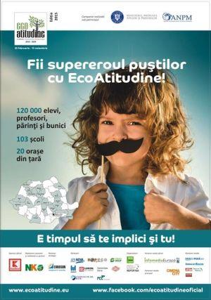 """Campania naţională ,,EcoAtitudine"""" va poposi la şcolile înscrise din Satu Mare"""