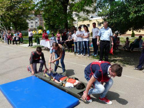 Exerciții de evacuare în caz de cutremur la  Școala Gimnazială nr. 1 și la Liceul Teoretic Carei
