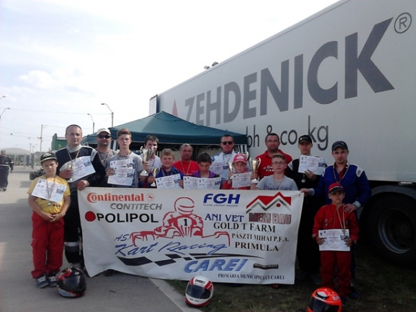 Karting:  Locul II pentru elevii lui Mille Ioan