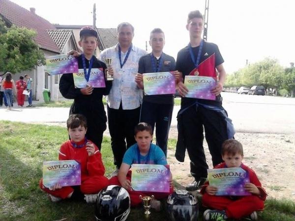 Karting: a doua poziţie pentru elevii lui Mille