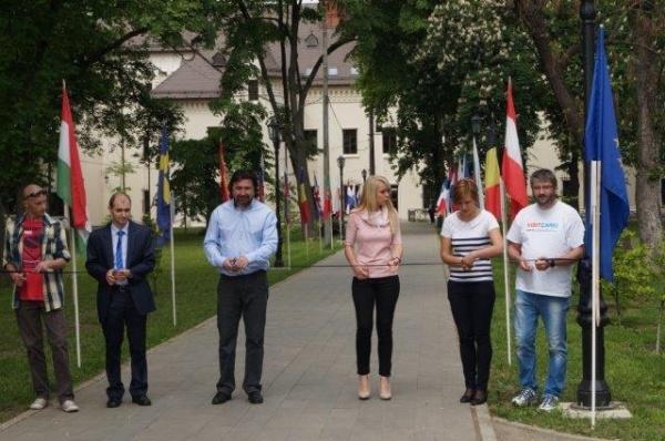 Muzicieni reprezentativi ai Uniunii Europene – pe aleea Parcului Dendrologic