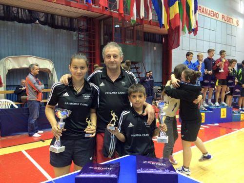 Sportivi careieni medaliati la Zagreb