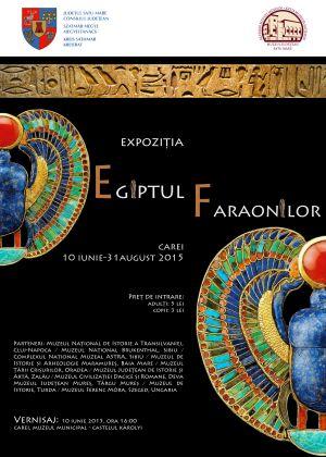 """Vernisaj   expozitie """"Egiptul Faraonilor""""  la Carei"""