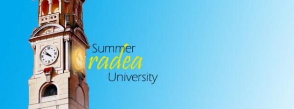 """Inscrieri la Universitatea  de vară pentru elevi """"Oradea Summer University'', ediţia a III-a"""