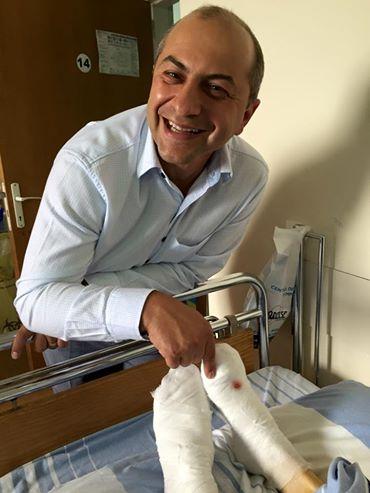 Operaţie ortopedică. Turcia vs. România