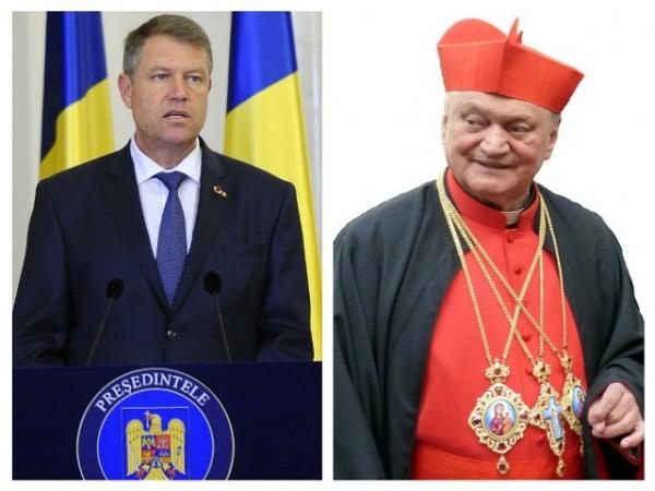 Preşedintele României îl decorează pe Preafericitul Lucian