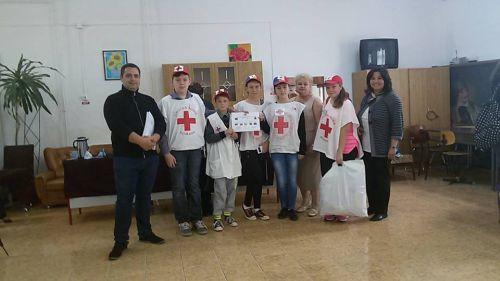 Premiul 3 pentru sanitarii de la Școala Gimnaziala nr. 3 Carei