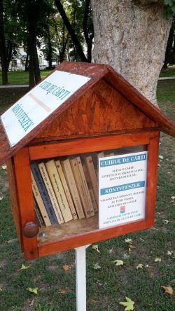 """Au fost schimbate cărțile în campania """"Cuibul de cărți"""""""