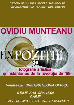 Vernisaj expozitie de fotografie Ovidiu Munteanu la Carei