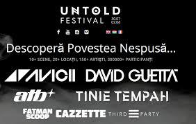 UNTOLD Festival Cluj-Napoca  intră în linie dreaptă