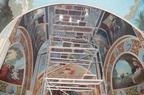 Au demarat lucrările la biserica din Ianculeşti