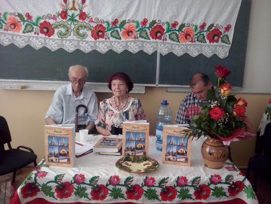 Corul ASTRA Careiană la lansarea monografiei comunei Pişcolt