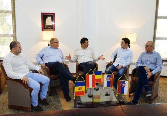 Reuniunea informală a miniștrilor justiției din Austria, Slovacia, Serbia, Republica Moldova și România