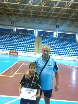 Careianul  Paul Szilagyi, legitimat la CSS Odorheiu Secuiesc, este vicecampion naţional la tenis de masă