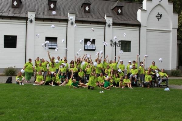 Tabăra pentru tinerii cu dizabilităţi de la Bobald