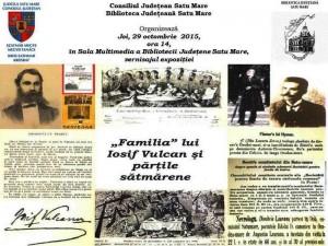 Familia lui Iosif Vulcan și părțile sătmărene
