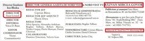 Directorul Gazeta de Nord-Vest atacă pe blogul său personal Apaserv