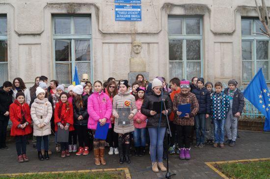 Vasile Lucaciu comemorat la Carei